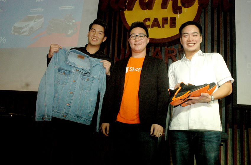 Shopee Super Brand Day, Kolaborasi  Edwin Jeans, Dr. Kevin dan Shopee