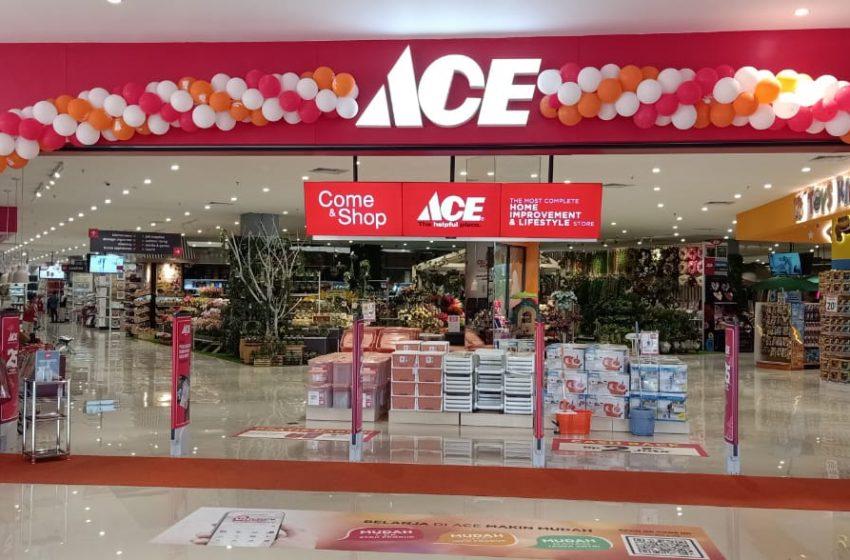 Berbelanja Lebih Mudah dengan Konsep Unlock The New Aceperience di ACE