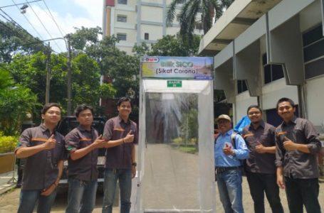 Mahasiwa dari Universitas Brawijaya, Malang, Jateng,  pencipta SiCO alias Sikat Corona. (Foto : Ist)
