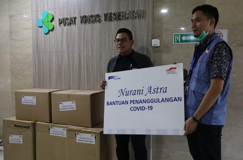 Grup Astra Gelontorkan Bantuan Rp 63 Miliar untuk Pencegahan Virus Corona