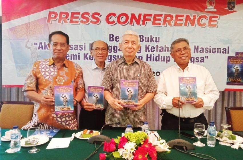 Pontjo Sutowo Terbitkan Buku 'Menggalang Ketahanan Nasional dengan Paradigma Pancasila'