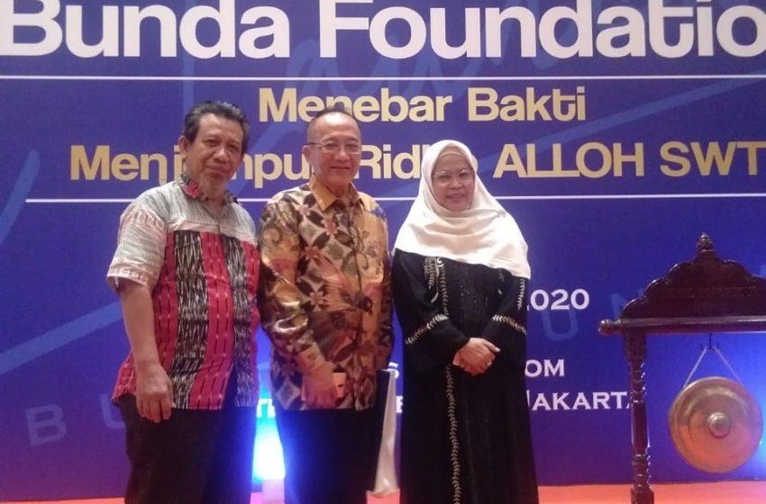 Lewat Bunda Foundation, Bunda Indah Bantu Pemerintah Entaskan Kemiskinan