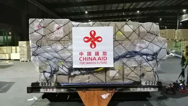 Investor Tiongkok Beri Sumbangan 40 Ton Alkes ke Indonesia