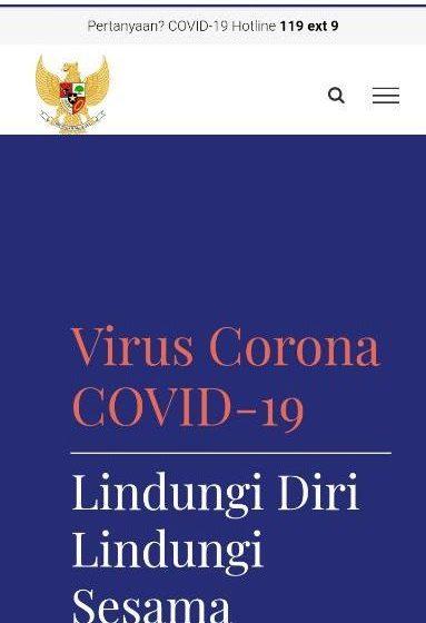 Ingin Informasi Tepat Tentang Covid-19, Silahkan Akses Situs www.covid19.go.id