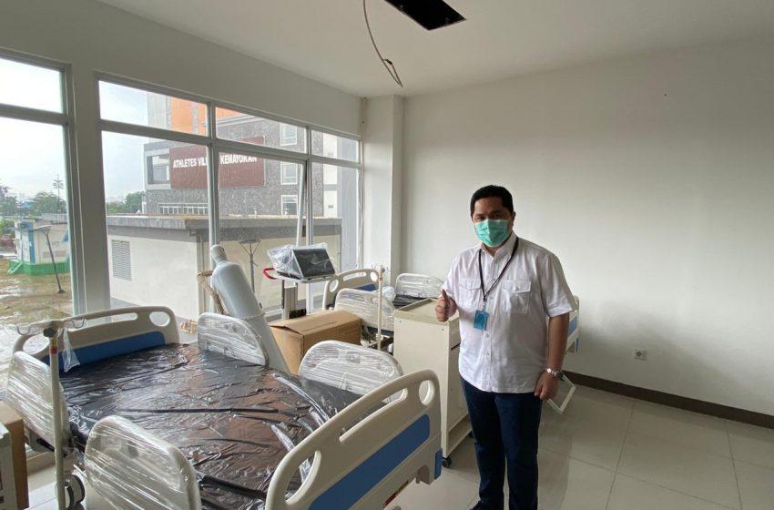 RS Darurat Penanganan Covid-19 Siap Beroperasi Layani Pasien