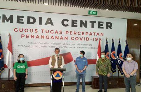 Tokopedia, OVO dan Grab  mendonasikan masing-masing Rp1 miliar (total Rp3 miliar) untuk membantu memerangi Covid-19. (Foto : Ist)