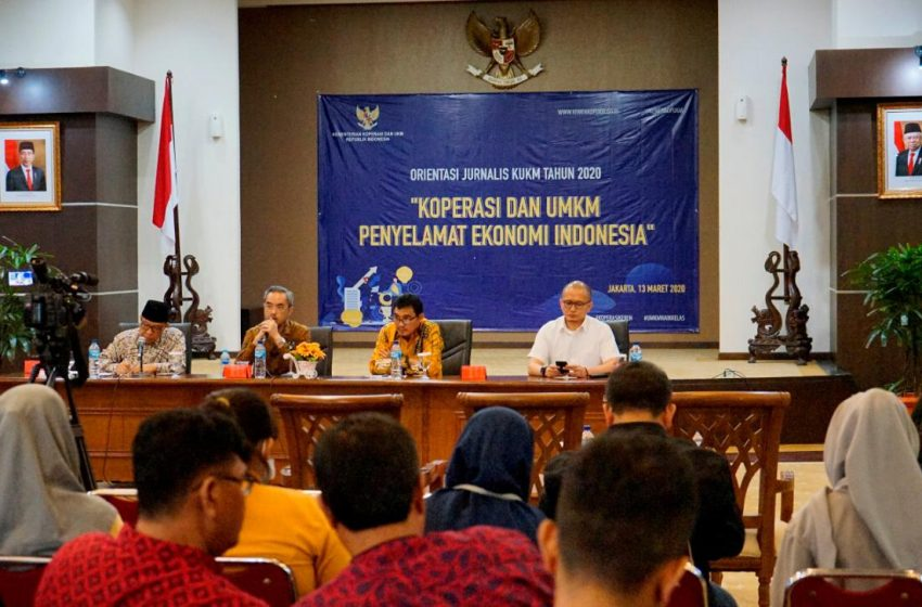 Media Massa Efektif Sosialisasikan Program Kementerian Koperasi dan UKM