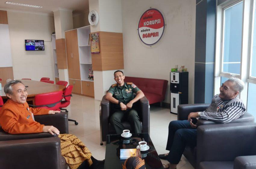 Jalin Silaturahmi, Dandim Surakarta Kunjungi Direktur RS Moewardi Surakarta