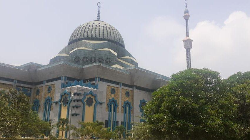 Masjid Raya JIC Tunda Kegiatan yang Mengundang Banyak Jamaah