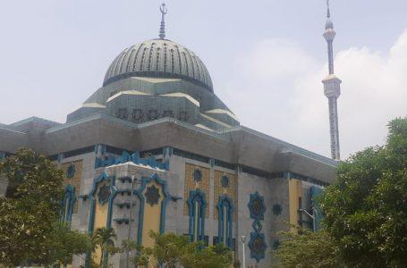 Masjid Raya Jakarta Islamic Centre, di Jalan Kramat Raya, Koja, Jakarta Utara