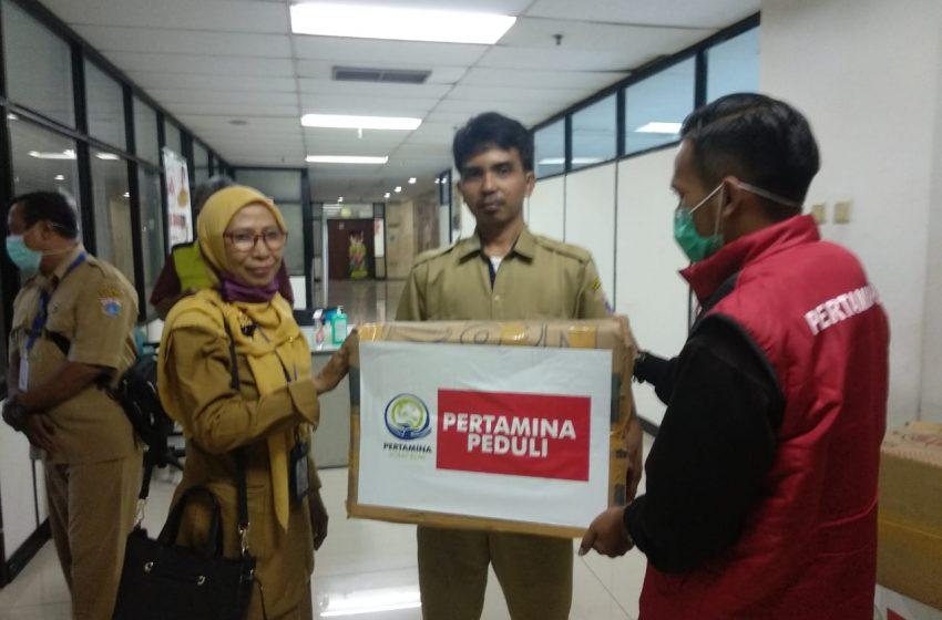 Pertamina Salurkan Masker untuk Puskesmas dan Posyandu di Jakarta Utara