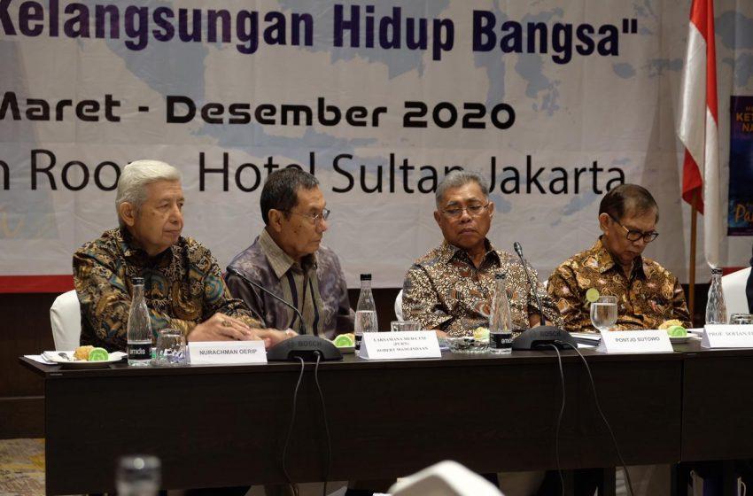 Pengusaha Pontjo Sutowo Ingatkan Jangan Sampai Negara Gagal