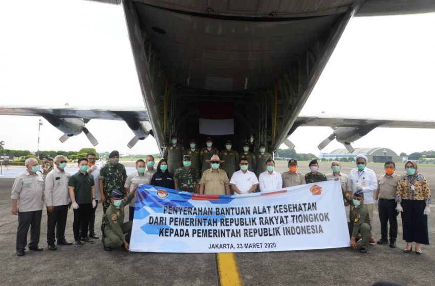 Menhan Prabowo Subianto Ajak Semua Pihak Atasi Pandemi Covid-19