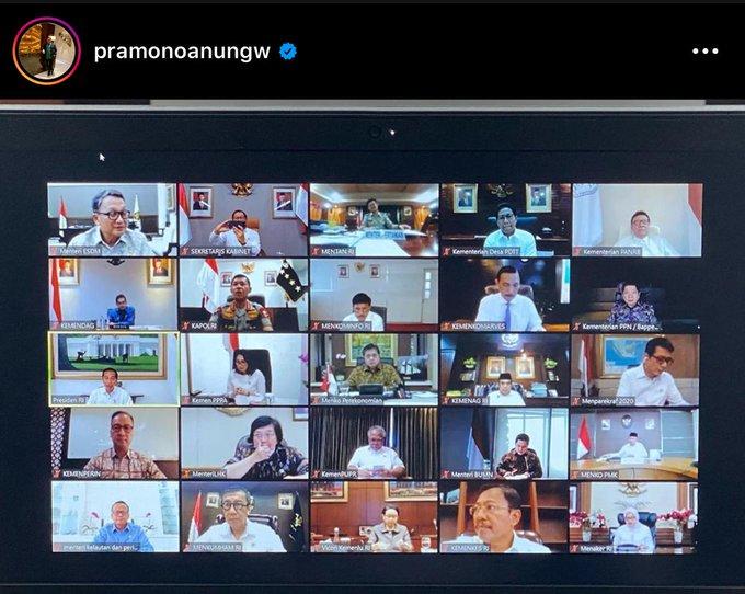 Rapat Terbatas Jokowi Bahas Percepatan Ekonomi
