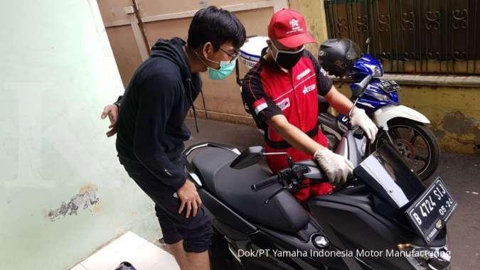 Yamaha Beri Layanan Servis Motor di Rumah Saja