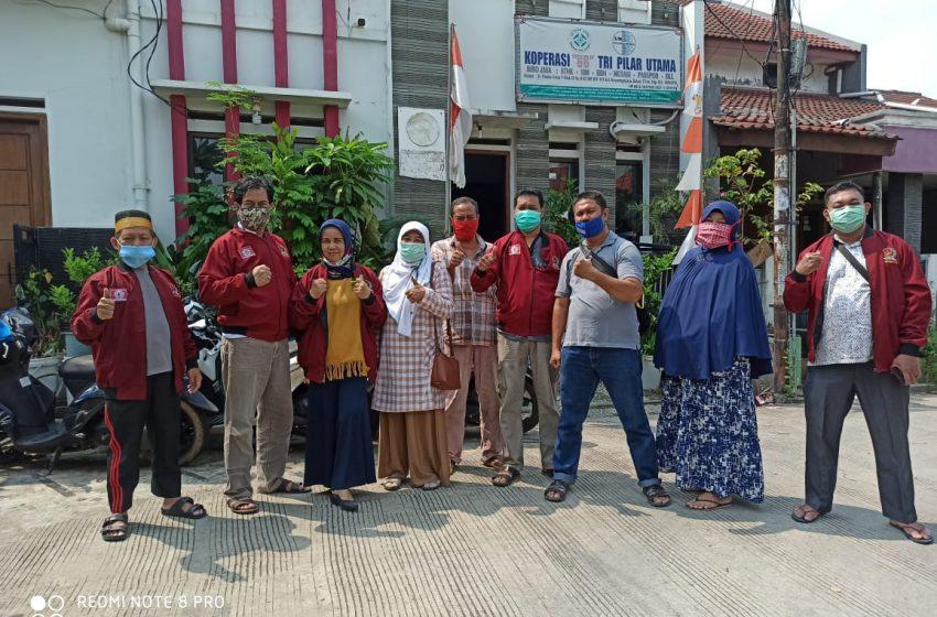 Peduli Dampak Corona, KKSS Kota Bekasi Salurkan Sembako