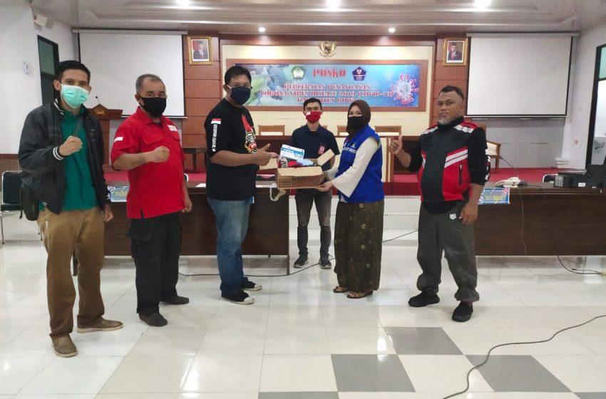 HPCI Makassar Ikut Sumbang Masker di Acara Gerakan Memakai Masker (GEMAS))