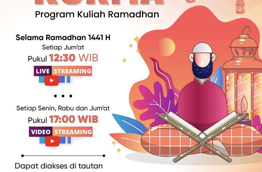 Lewat Siaran Kuliah Ramadhan 'KURMA', Ulama Hadir di Tengah Umat