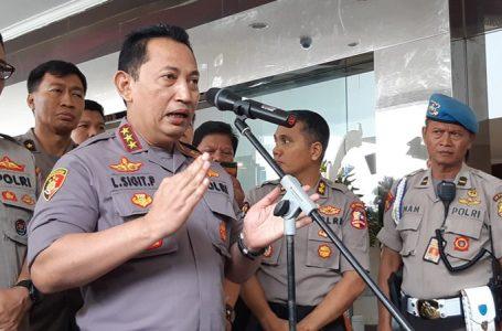 Kabareskrim Polri Komjen Listyo Sigit Prabowo memerintahkan seluruh jajaran reserse di Indonesia, memperketat pengawasan. (Foto : Humas Polri)