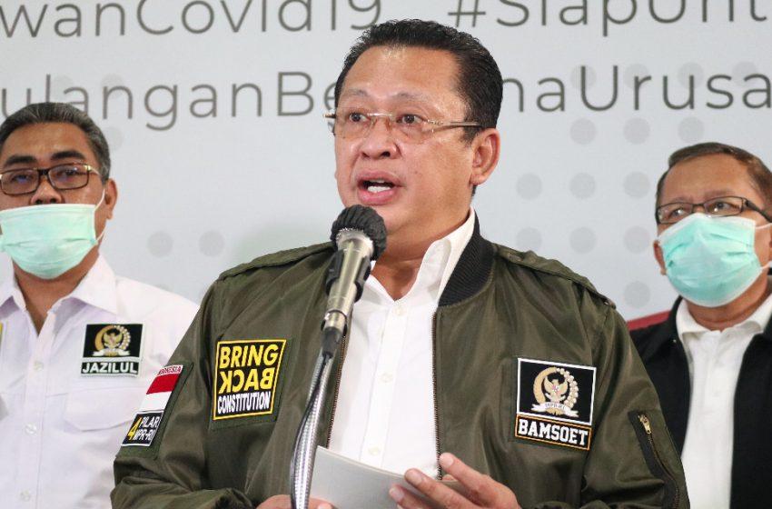 Ketua MPR RI Minta Masyarakat Bisa Mendisiplinkan Diri dari Pandemi Covid-19
