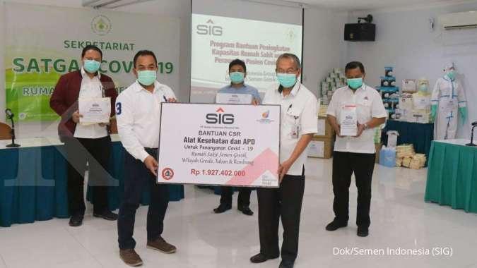 PT Semen Indonesia Sumbang Bantuan Alkes ke RS Semen Gresik