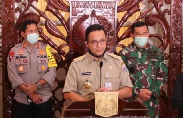 Kata Anies Baswedan Pemberlakuan PSBB Dimulai 10 April