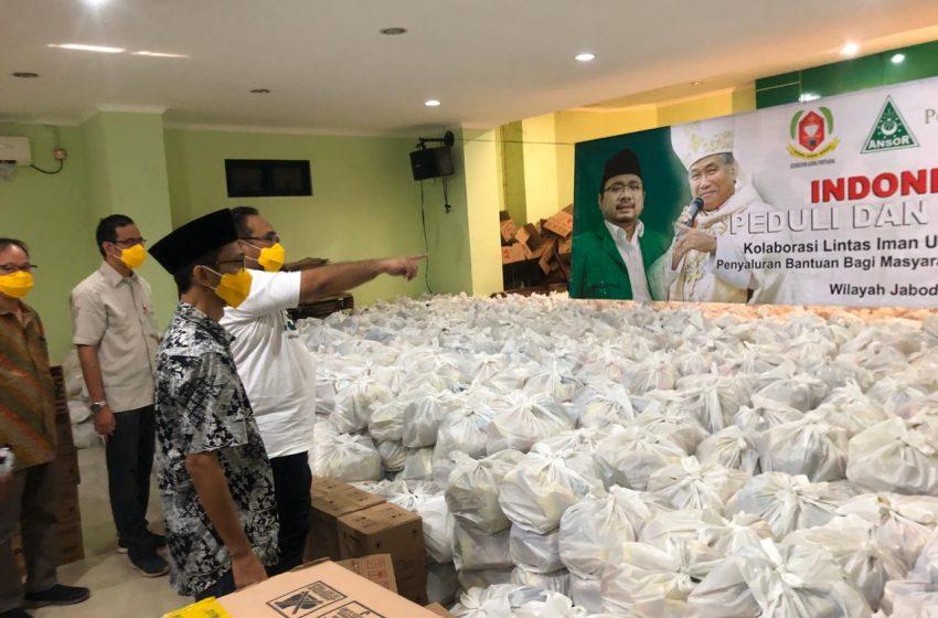 Gerakan Indonesia Peduli dan Bersatu, Salurkan Ribuan Paket Sembako di Jabodetabek