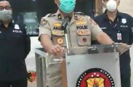 Polri keluarkan video klip #dirumahaja, ajak masyarakat ikuti hmbauan pemerintah. (Foto : Humas Polri)