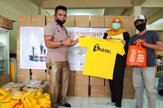 Baqoel Salurkan Bantuan untuk Para Jurnalis di Tengah Pandemi Covid-19