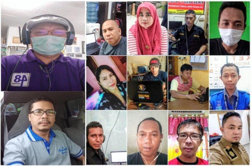 Peserta Diklat dari Dua Wilayah Indonesia, Ikuti Diklat Jurnalistik Corona Angkatan Kedua