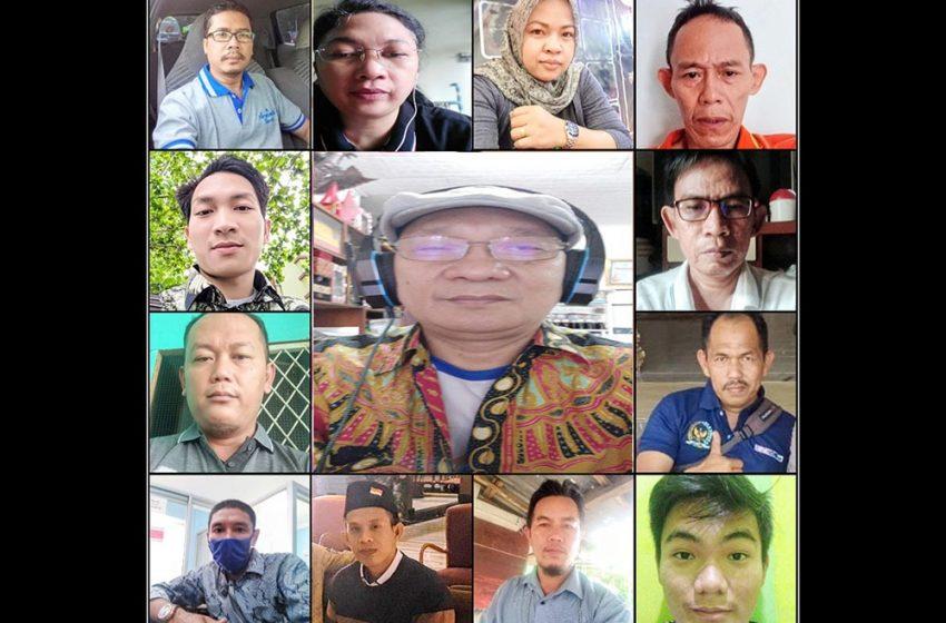 Bahas Editing Berita, Diklat Jurnalistik Corona Makin Menarik