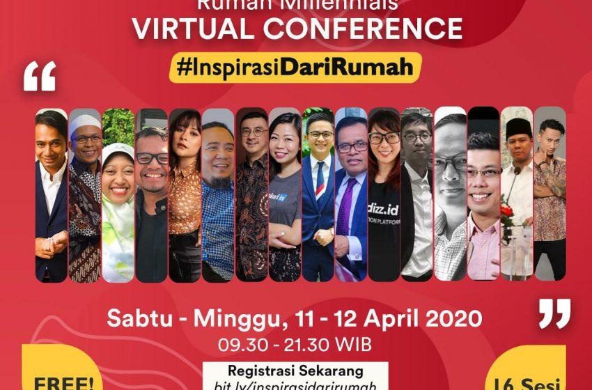 Menyasar Anak Muda, Rumah Millenials Gelar Virtual Conference #InspirasiDariRumah
