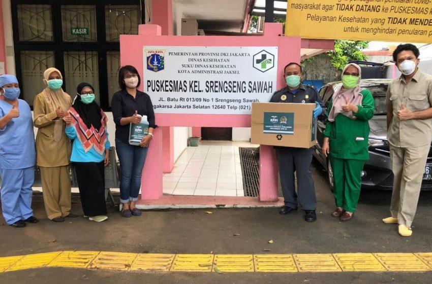Puskesmas Srengseng Sawah Terima Bantuan APD dari KPPI