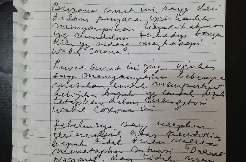 Lewat Surat untuk Presiden Jokowi, Siti Fadilah Supari Sampaikan Usulan Penanganan Covid-19