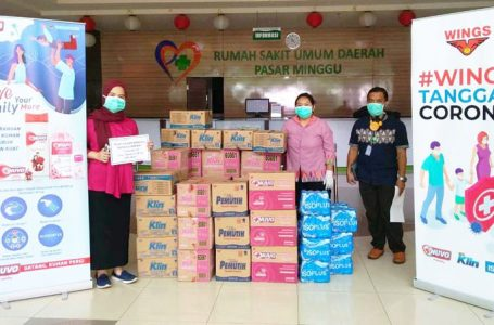 Wings Group Sumbang Rp25 Miliar untuk pembelian alat-alat penunjang tenaga medis, dalam menghadapi Covid-19. (Foto : Ist)