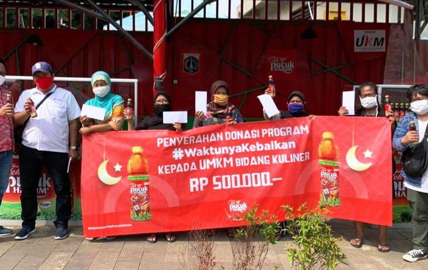 Teh Pucuk Harum Helat Program #WaktunyaKebaikan, Bantu UMKM Di Bidang Kuliner