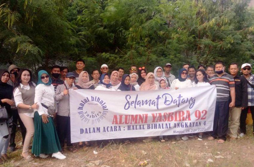 ALUMNI SMP YASBIRA 92 Kota Bogor Gelar Halal Bi Halal Angkatan 4
