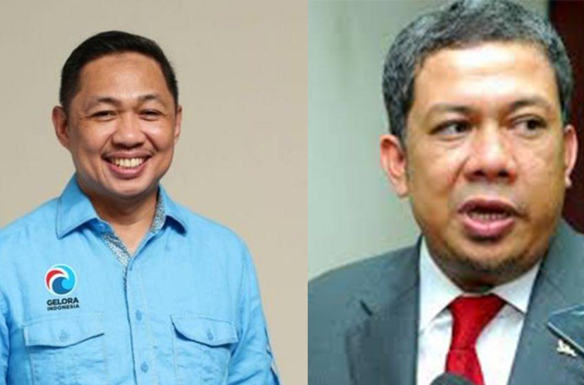 Anis Matta dan Fahri Hamzah Siap di Pemilu 2024 lewat Partai Gelora