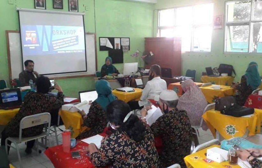 SDN Cimanggu Kecil Kota Bogor Gelar Workshop KTSP Terkait  Penyusunan Program Kerja Untuk Tahun Ajaran 2020-2021