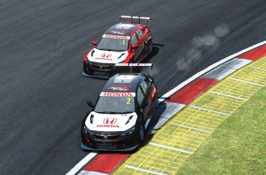 Riyan Adisaputra dan Andhika Rama Maulana Raih Posisi Pertama Di Seri Kedua Honda Racing Simulator Championship