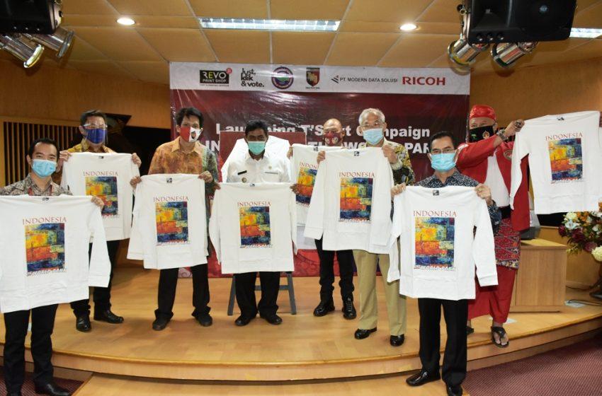 Forum Deklarator Taman Wisata Dunia Gandeng Ricoh Luncurkan T-Shirt Campaign Indonesia The World Park
