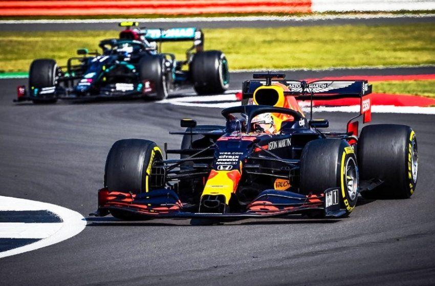 Red Bull Honda Sukses Raih Kemenangan Dalam Balapan Bersejarah Serie '70 Tahun F1 Grand Prix'