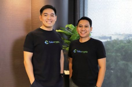 Co.Founder & CEO Tokocrypto Pang Xue Kai bersama COO Tokocrypto Teguh Kurniawan Harmanda