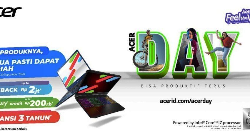 Acer Day 2020 Kembali Hadir, Tawarkan Lini Laptop Terbaru Hingga Hadiah Jutaan