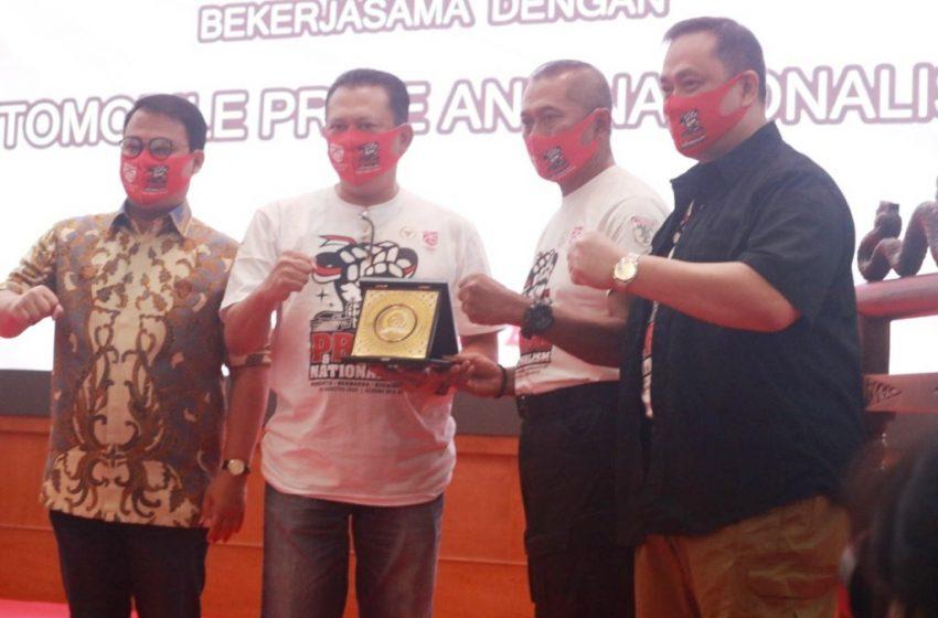 Ratusan Komunitas Otomotif, Kukuhkan Deklarasi Kebangsaan Di Acara Pride and Nationalism'