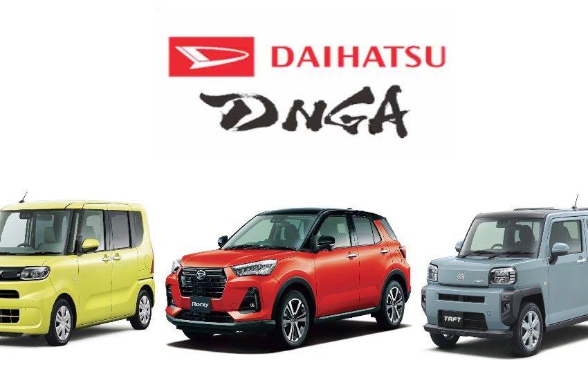 Daihatsu Mulai Terapkan Platform Berbasis DNGA, Apa Saja Produknya?