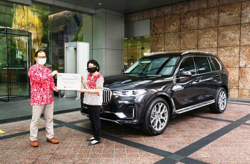 BMW GROUP Indonesia Gandeng Save The Children, Salurkan Donasi 2500 Paket Sanitasi Anak