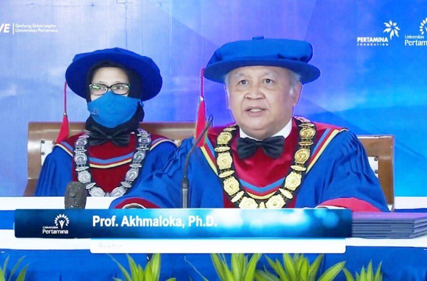 Sambut 1.405 Mahasiswa Baru, Universitas Pertamina Siap Bekali Kemampuan Higher-order Thinking Skills (HOTS)
