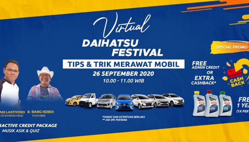 Sensasi Seru Beli Mobil Lewat Online di Daihatsu Festival Banyak Promo Menariknya