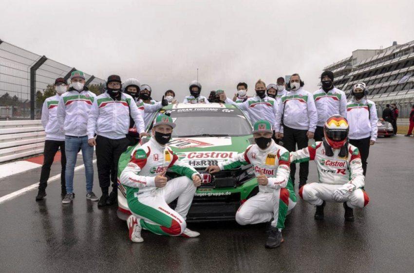 Empat Pembalap Honda Sukses Antar Tim Castrol Honda Racing Raih Gelar Juara di Ajang Bergengsi 24 Hours Nürburgring